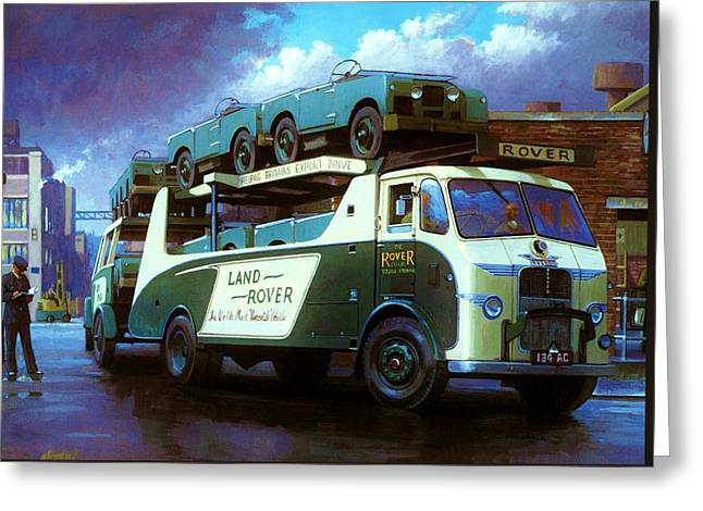 Rover Greeting Cards - Rovers for export. Greeting Card by Mike  Jeffries