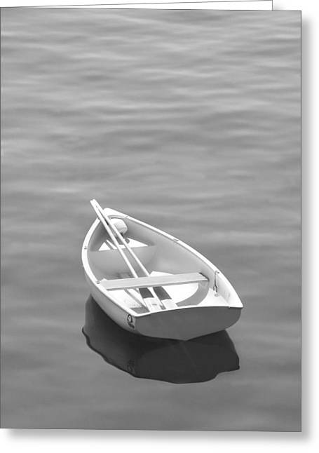 Rows Greeting Cards - Row Boat Greeting Card by Mike McGlothlen