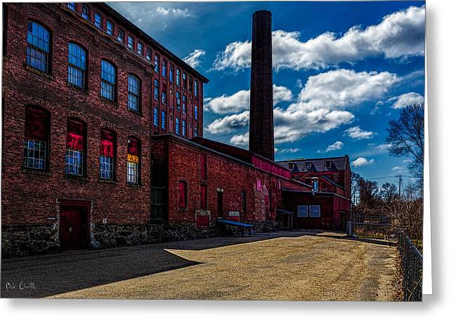 Orsillo Greeting Cards - Roy Hill Roy Continental Mill Greeting Card by Bob Orsillo