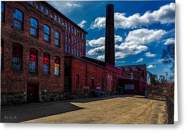 Historic Home Greeting Cards - Roy Hill Roy Continental Mill Greeting Card by Bob Orsillo