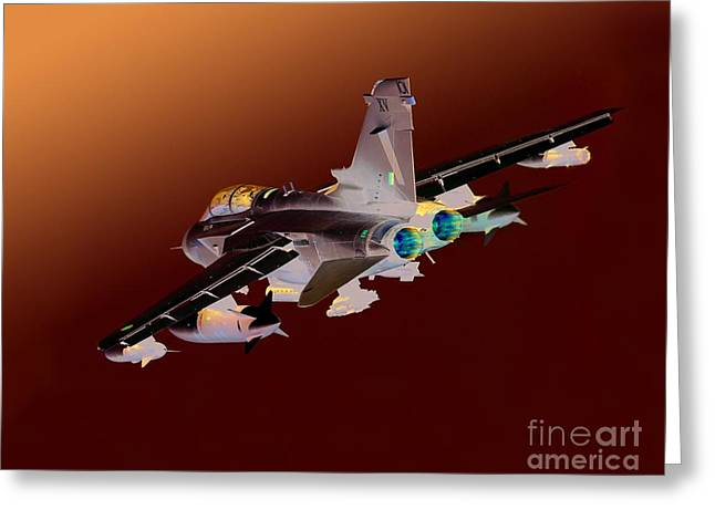 Gioia Greeting Cards - Royal Air Force Tornado GR4  Greeting Card by Paul Fearn