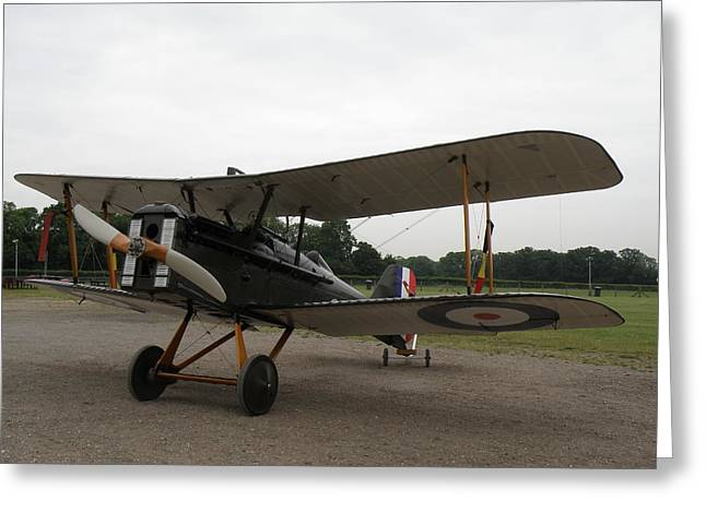 Royal Aircraft Factory Se5a Greeting Card by Ted Denyer