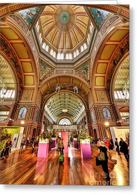 Inauguration Greeting Cards - Royal Exhibition Building II Greeting Card by Ray Warren