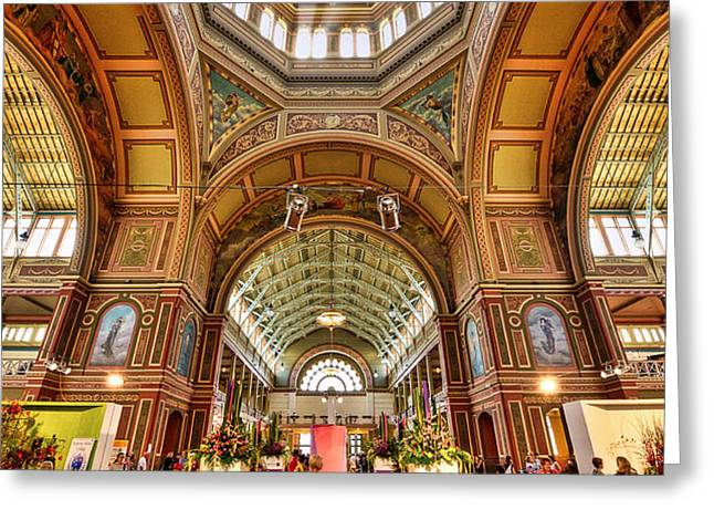 Royal Exhibition Building II Greeting Card by Ray Warren