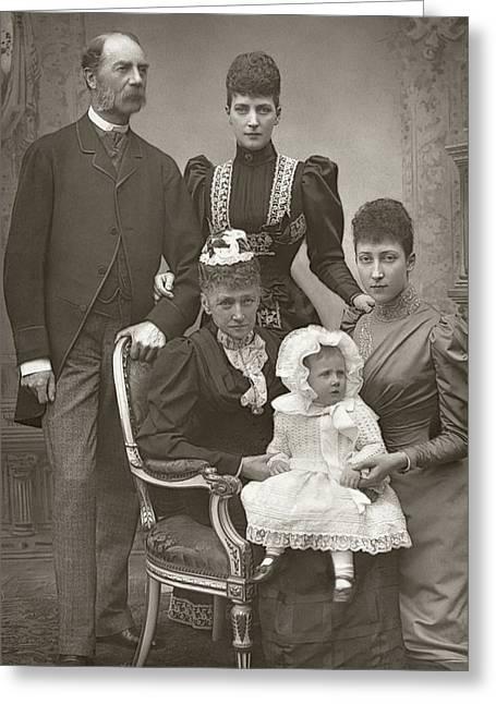 Royal Family, C1894 Greeting Card by Granger