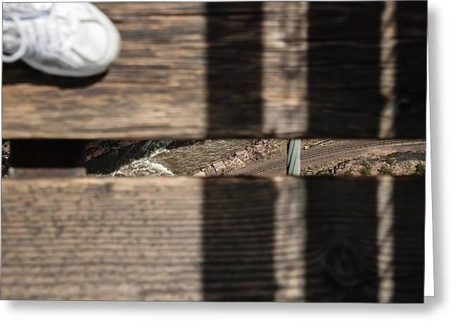 Royal Gorge Bridge Greeting Cards - Royal Gorge IV Greeting Card by Robert VanDerWal