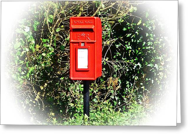 Postal Greeting Cards - Royal Mail Greeting Card by Sharon Lisa Clarke