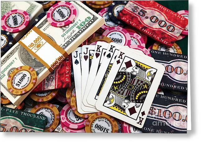 Royal Art Greeting Cards - Royal Men Greeting Card by John Rizzuto