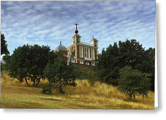Observatory Greeting Cards - Royal Observatory, Greenwich Park Greeting Card by Panoramic Images
