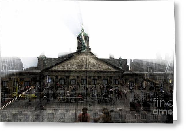 Royal Art Greeting Cards - Royal Palace Motion Greeting Card by John Rizzuto