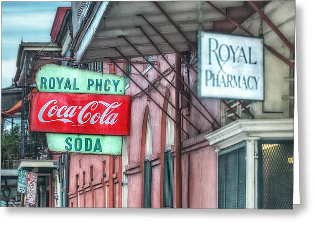 Brenda Bryant Photography Greeting Cards - Royal Pharmacy Greeting Card by Brenda Bryant