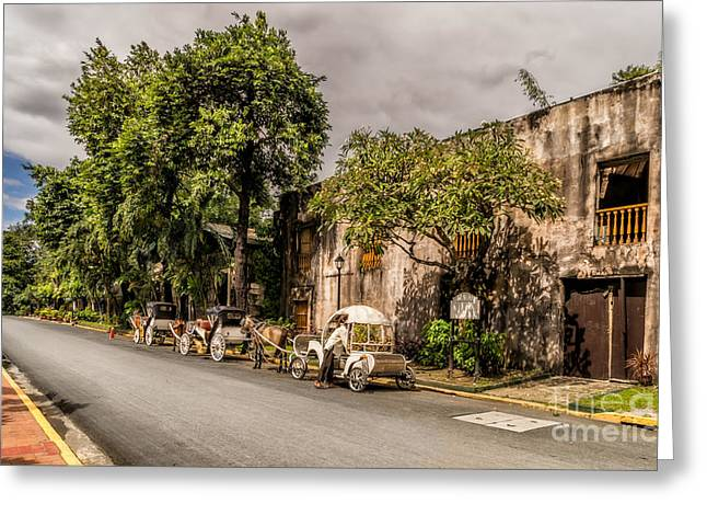 Manila Greeting Cards - Royal Warehouse  Greeting Card by Adrian Evans