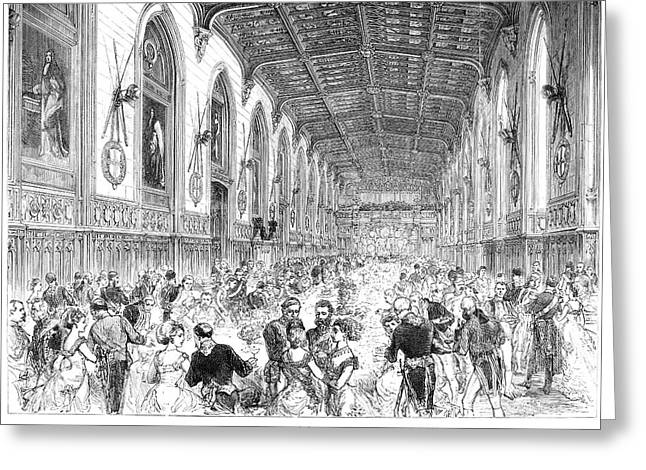 Royal Wedding, 1879 Greeting Card by Granger