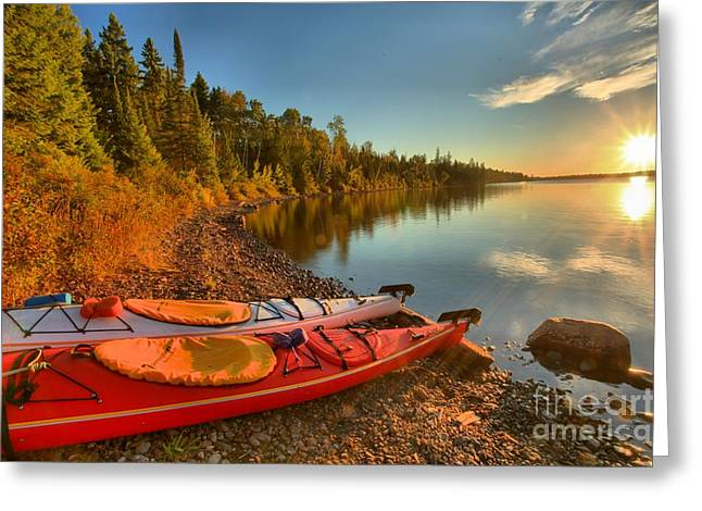 Us National Parks Greeting Cards - Royale Sunrise Greeting Card by Adam Jewell