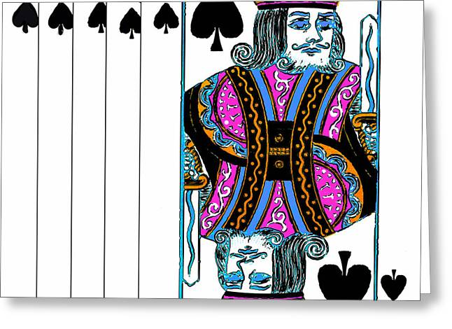 The King Of Pop Digital Art Greeting Cards - Royalty 20140301v3 square Greeting Card by Wingsdomain Art and Photography