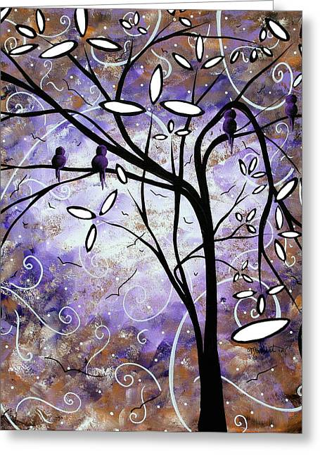 Royalty Greeting Cards - Royalty by MADART Greeting Card by Megan Duncanson