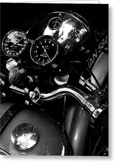 Motorcycles Greeting Cards - Rpm X 1000 Greeting Card by Mark Rogan