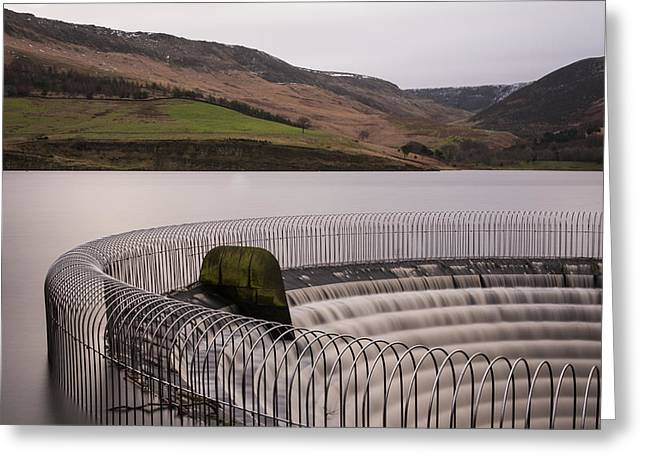 Tranquility Greeting Cards - RSPB Dove Stone Reservoir. Greeting Card by Daniel Kay