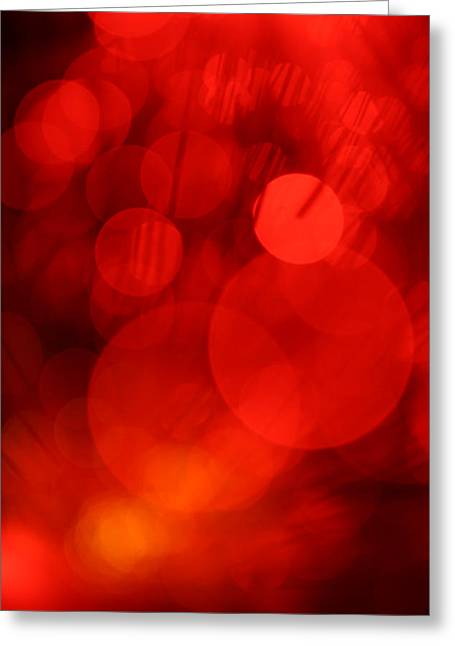Science Fiction Art Greeting Cards - Ruby Tuesday Greeting Card by Dazzle Zazz