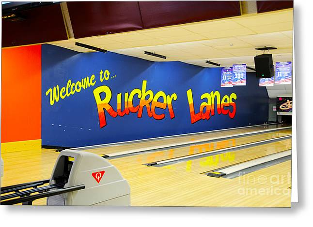 Fort Rucker Greeting Cards - Rucker Lanes Greeting Card by Jay Mann