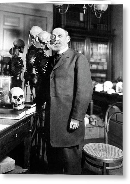 Rudolf Virchow Greeting Card by National Library Of Medicine