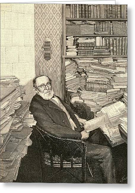 Rudolph Virchow Greeting Card by Universal History Archive/uig