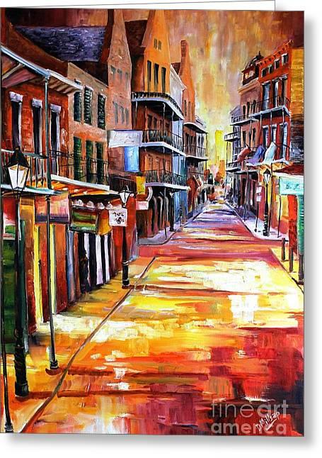 Rue Bourbon Greeting Cards - Rue Bourbon Greeting Card by Diane Millsap