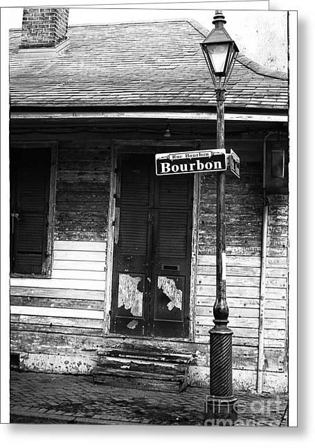 Rue Bourbon Greeting Cards - Rue Bourbon Greeting Card by John Rizzuto
