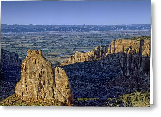 Rugged Cliffs Greeting Cards - Rugged Colorado Greeting Card by Mountain Dreams