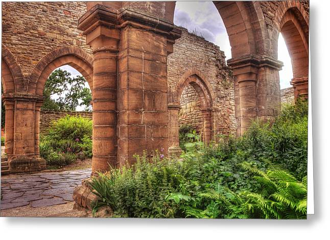 Tonemapping Greeting Cards - Ruine Greeting Card by Steffen Gierok