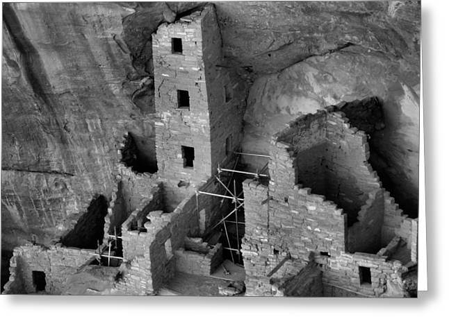 Cliff Dwellers Greeting Cards - Ruins Greeting Card by Dan Sproul