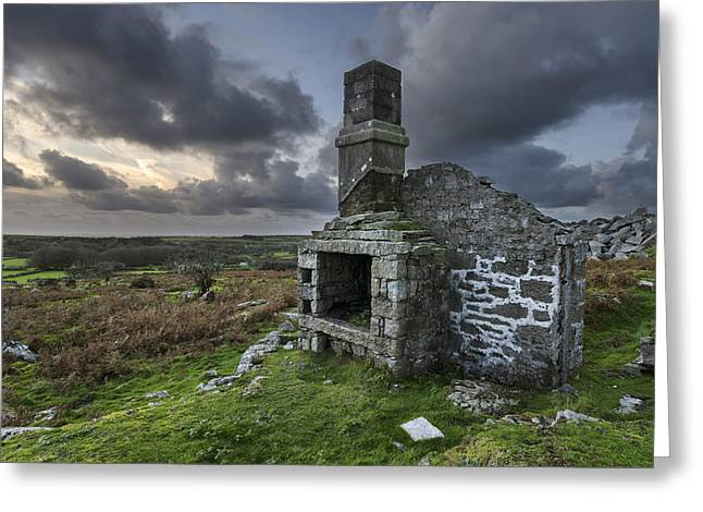 Tor Greeting Cards - Ruins of an industrial age Greeting Card by Helen Hotson