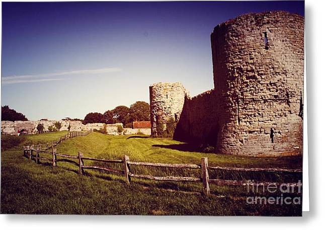 Polish Culture Greeting Cards - Ruins of Castle Greeting Card by Babs Gorniak