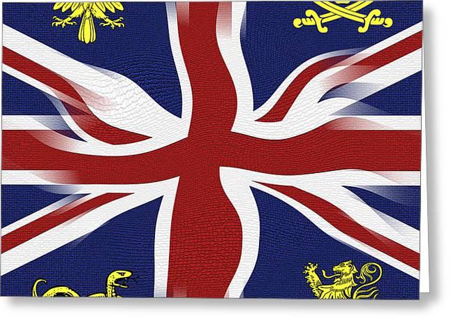 Rule Britannia Greeting Card by Daniel Hagerman