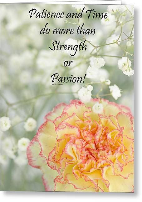 Positive-attitude Greeting Cards - Rumi Quote-3 Greeting Card by Rudy Umans