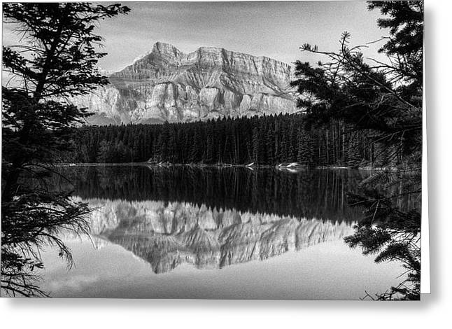 Rundle Greeting Cards - Rundle 1  in Reflection Greeting Card by Douglas Barnett