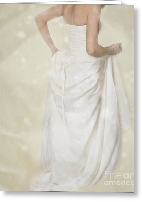 Bride Greeting Cards - Running Away Greeting Card by Amanda And Christopher Elwell