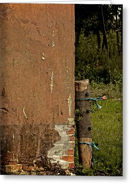 Run Down Greeting Cards - Rural Decay Greeting Card by Odd Jeppesen