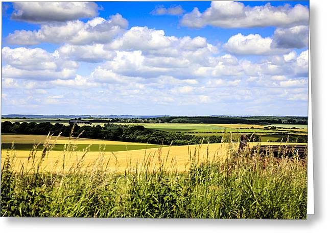 Peaceful Scene Greeting Cards - Rural England Greeting Card by Chris Smith