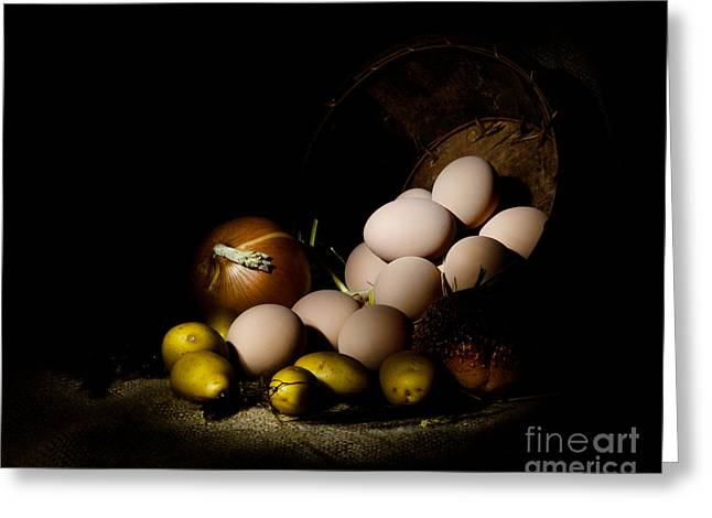 Cecil Fuselier Greeting Cards - Rural Produce Greeting Card by Cecil Fuselier