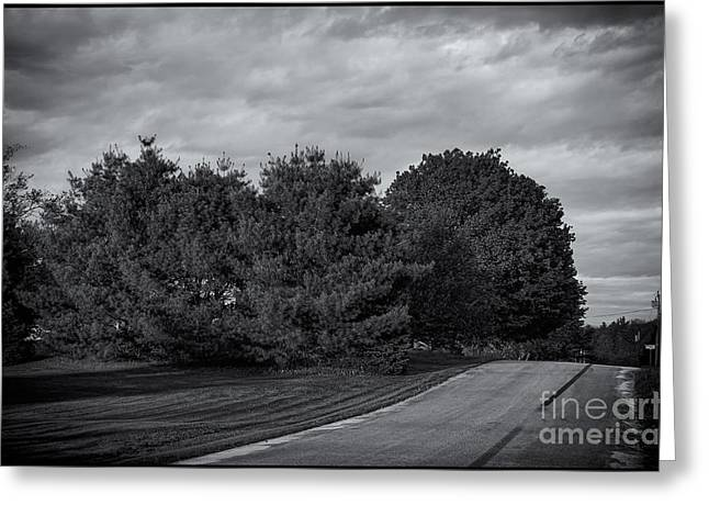Rural Maine Roads Greeting Cards - Rural Road 52 Greeting Card by Mark Myhaver