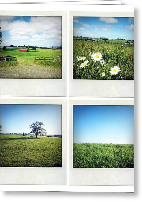 Rural Scenes Greeting Card by Les Cunliffe