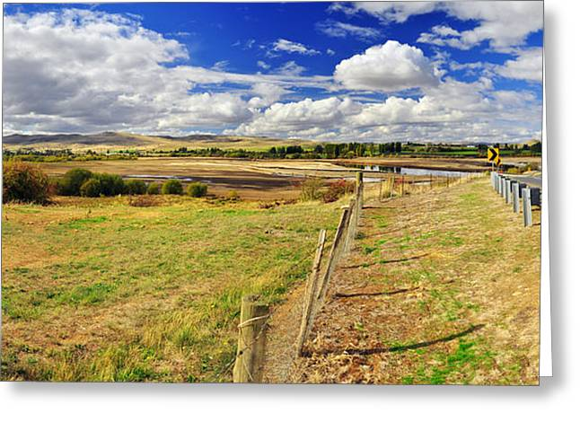 Rural Tasmania #2 Greeting Card by Terry Everson