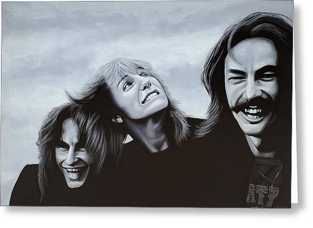 Stage Greeting Cards - Rush Greeting Card by Paul Meijering