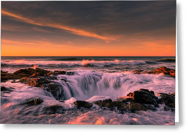 Thor Photographs Greeting Cards - Rush to the Underworld Greeting Card by Dan Mihai