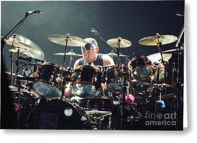 Tim Bischoff Greeting Cards - RUSH92-Neil-A010 Greeting Card by Timothy Bischoff