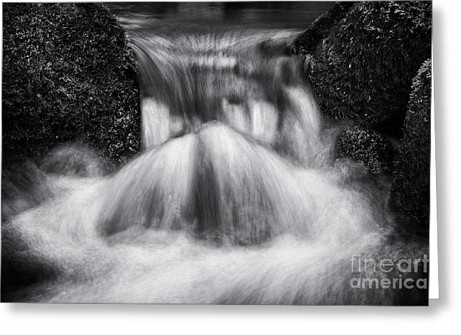 Rapids Greeting Cards - Rushing Waters Devon Greeting Card by Tim Gainey