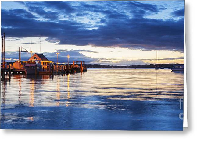 Russell Greeting Cards - Russell Bay of Islands New Zealand Greeting Card by Colin and Linda McKie