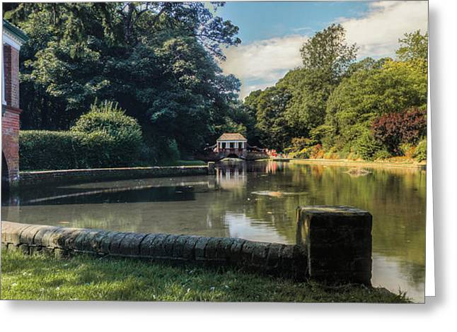 Public Garden Greeting Cards - Russell Gardens Kearsney Greeting Card by Ian Hufton