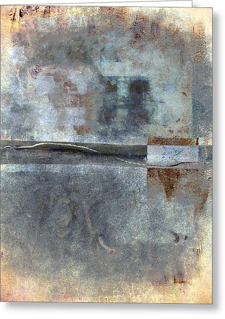 Rectangles Greeting Cards - Rust and Walls No. 1 Greeting Card by Carol Leigh